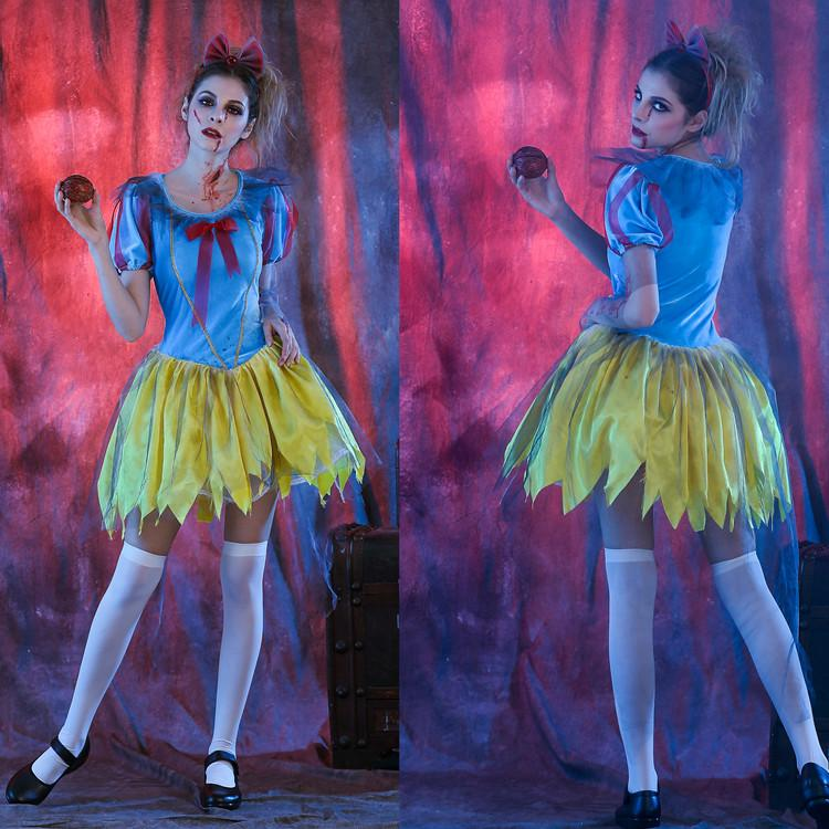 Zombies Princess Dress Halloween Horror Role Play Cosplay Stage ...