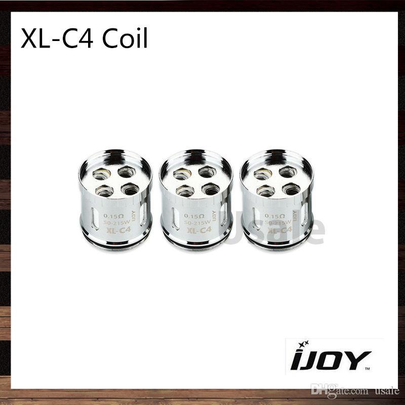 iJoy XL-C4 Light-up Chip Coil para Limitless XL RTA 0.15ohm Bobinas de repuesto del tanque sin límite 100% originales