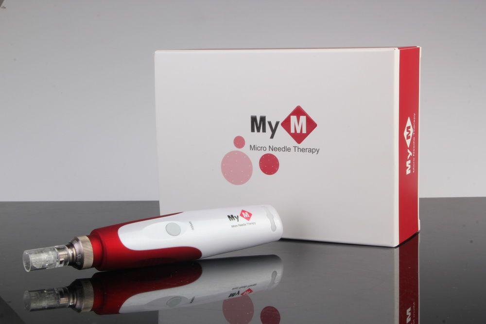 Профессиональный электрический вибрационных дермы ролика корея дермы ручка MYM dermapen с 52 иглами
