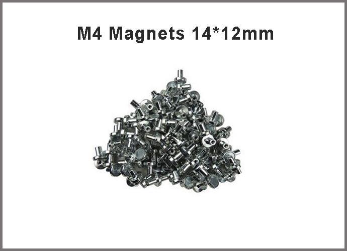 Großhandel Led Anzeigetafel Ersatzteil Zubehör M4 Magnete 14 * 12 ...