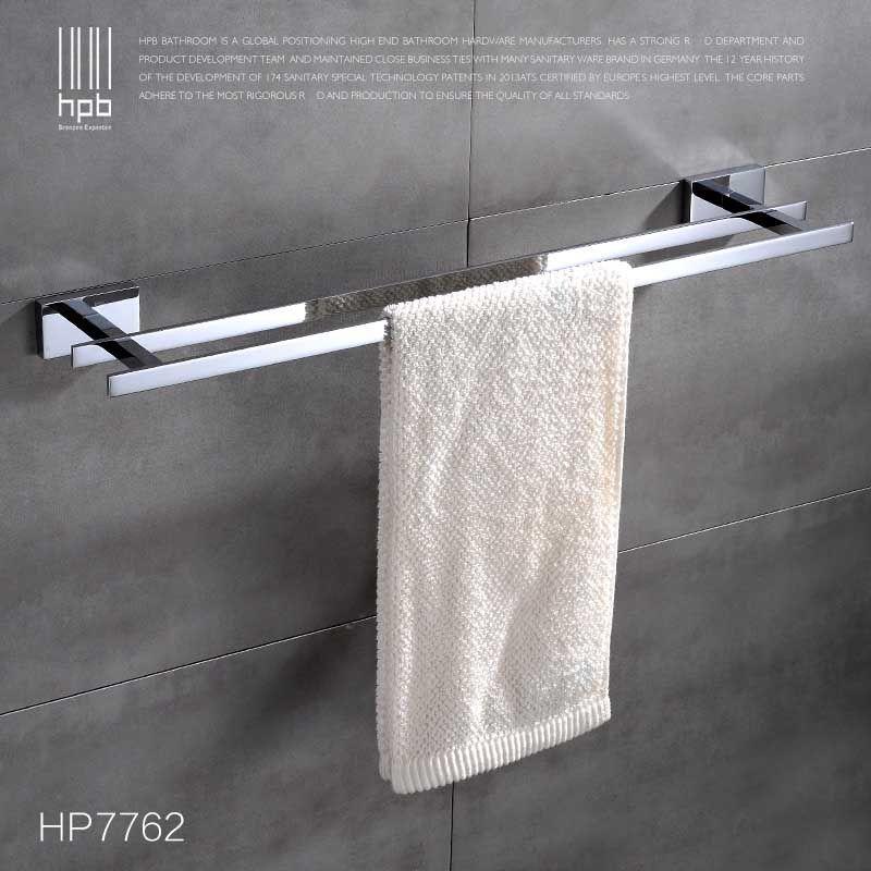 Towel Racks Online Sale Han Pai Brass Bathroom Accessories Towel Bar Rack  Holder Chrome Finished Wall Mounted Bath Acessorios De Banheiro Hp7762  379518727 ...
