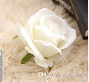 Wholesale manufacturers rose flower trade head cloth wall decoration Home Furnishing wedding flowers