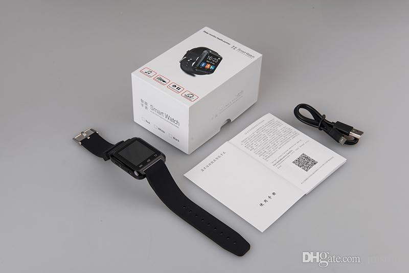 Bluetooth Smartwatch U8 U Watch Smart Watch Wrist Watches for iPhone 4S 5 5S Samsung S4 S5 Note 3 HTC Android Phone