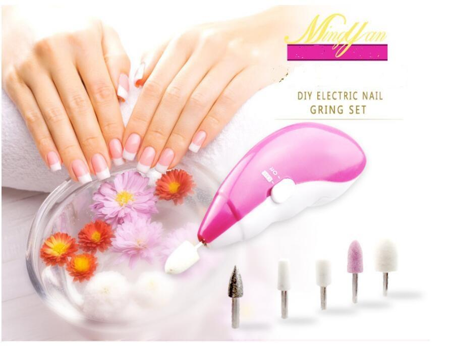 5 In1 Electric Nail Manicure Drill File Manicure Grinding Machine ...