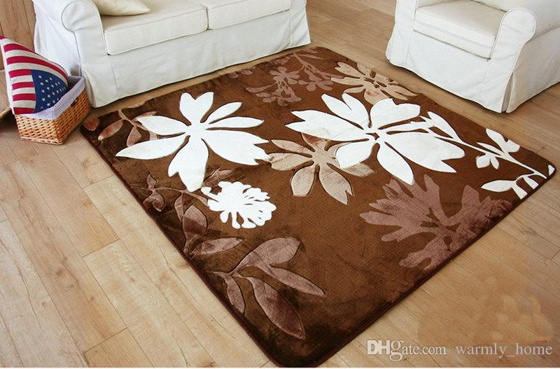 Tapis en daim au détail Tapis de confort Tapis de sol Tapis de sol Tapis de sol Tapis de sol Brand New pour le salon