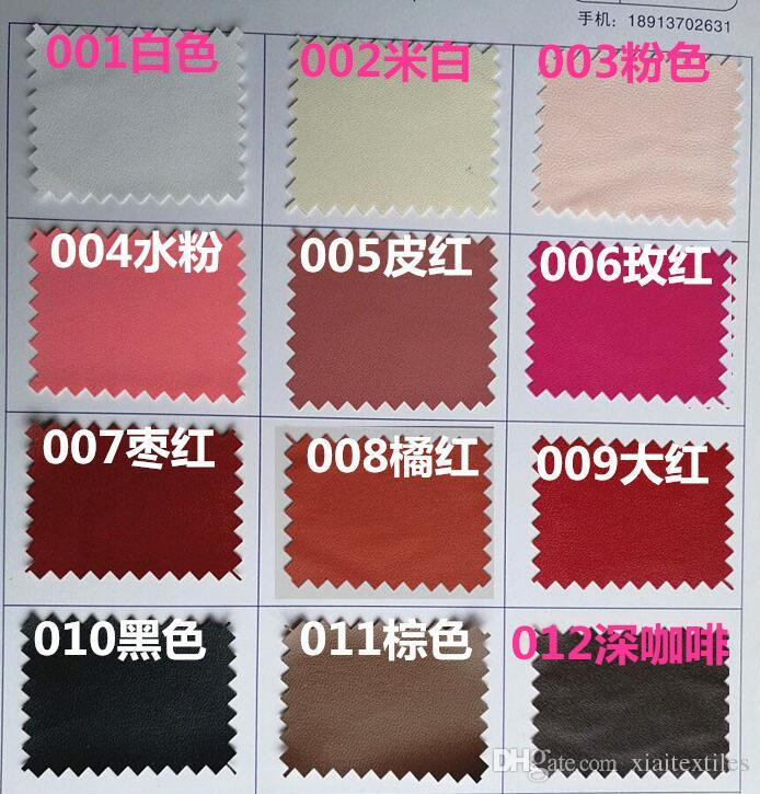 high quality 10 colour Ultra-thin 0.2MM PU artificial leather fabric down jacket cos clothing imitation leather waterproof fabric B187