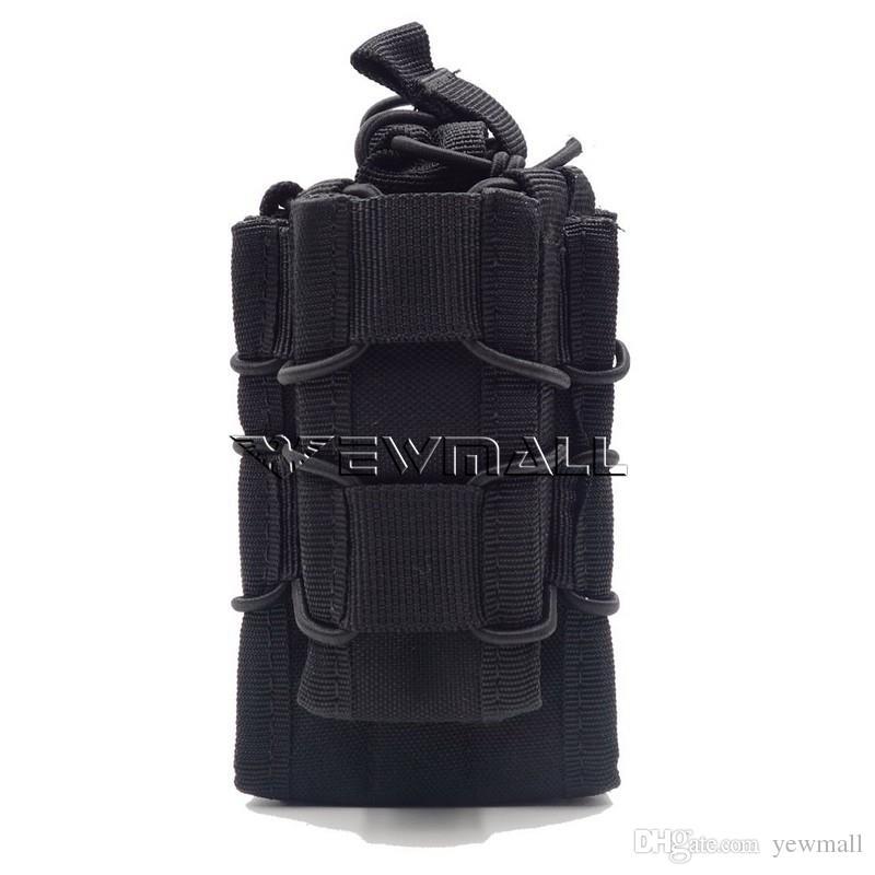 Tactical Open Top Double Decker Single Rifle Pistol Mag Pouch Magazine Bag