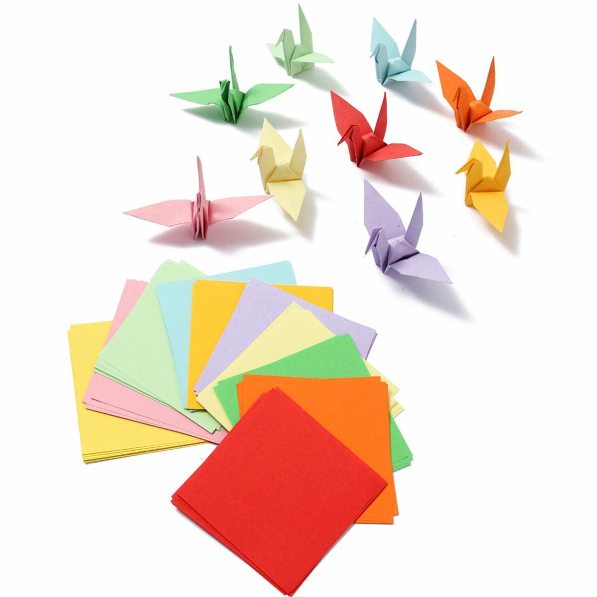Großhandel Los Mehrfarben Origami Quadratisches Papier