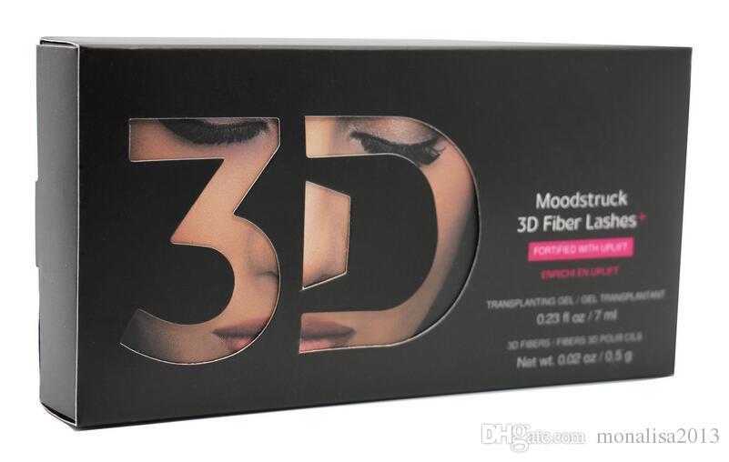 2018 vendeur chaud New 1030 version 3D Fiber Lashes Étanche Double Mascara 3D FIBRE CILS Défini Maquillage Cils livraison gratuite