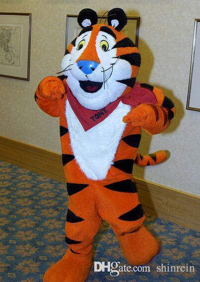 Ohlees Actual Picture Tony Tiger Mascot Costume For Halloween Party Activity Fancy Christmas Adult Size Homemade Halloween Costumes Spiderman Costume From ... & Ohlees Actual Picture Tony Tiger Mascot Costume For Halloween Party ...