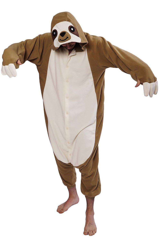 2019 Happybuy Kigurumi Animal Onesie Sloth Animal Kigurumi