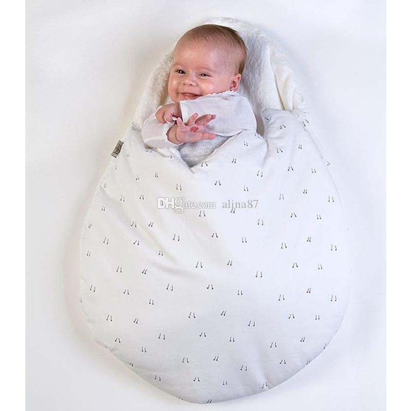 0b102adbea6f Newborn Baby Sleeping Bags 2016 Winter Kawaii Egg Style Strollers Bed  Fleece Swaddle Blanket Wrap Cartoon Bedding Sleep Sacks Sleeping Bags For  Boys Indoors ...