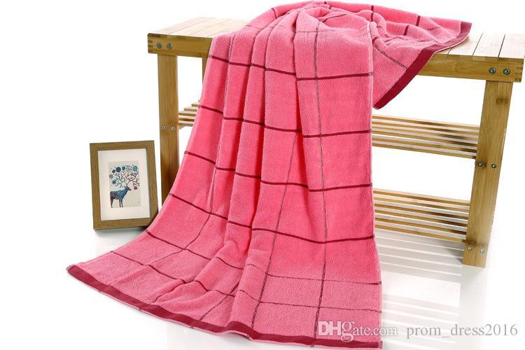 2019 Livraison Gratuite Pas Cher Pur Coton Serviette Fabricants, Grossiste Natif Rouge Laiteux Brun Rose Générosité Giga Épais Serviettes En Coton HY1237