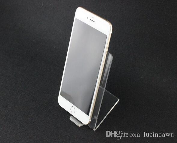 Акрил мобильный сотовый телефон держатель дисплея стойку настольный цифровой магазин акриловый дисплей стойки