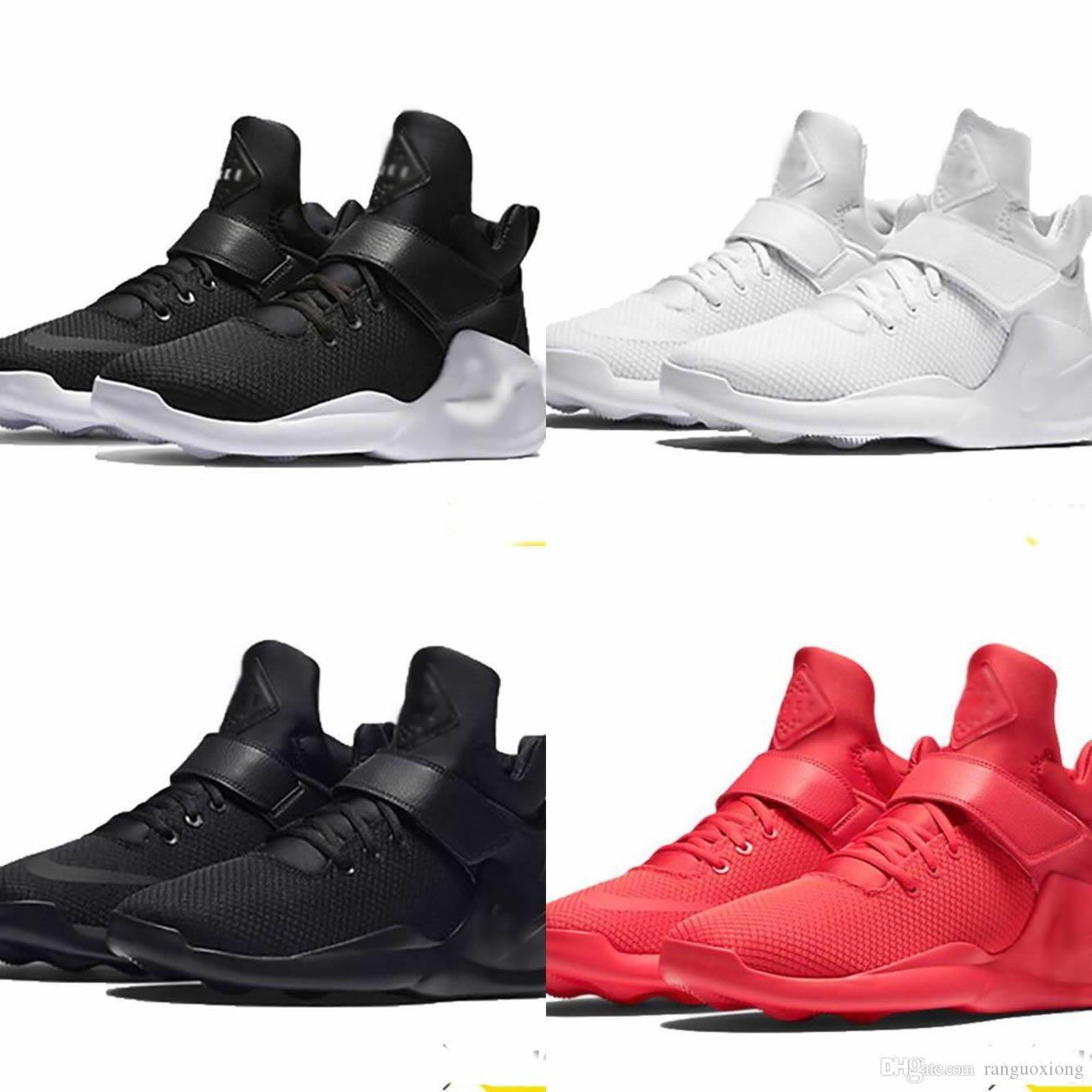 a85d2edc49e7 New Air Kwazi Running Shoes For Men Or Women Black Red White High Quality  Basketball Boots Outdoor Sneakers Athletic Casual Sport Shoes Cool Shoes  Naot ...