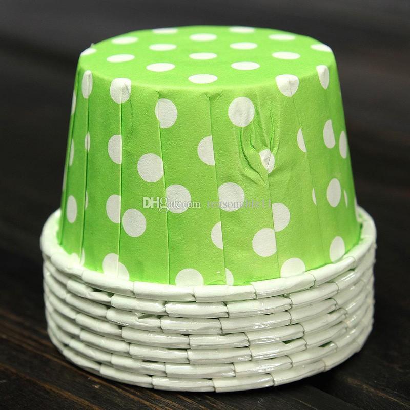 Cupcake Casos de Ferramentas Copos De Cozimento Caixa De Papel Colorido Bonito Para O Aniversário De Casamento, Festa Do Chuveiro de bebê Do Bolo Decoração Queque