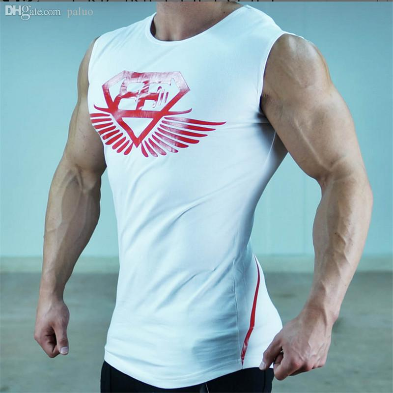 b8f43080b3783 Wholesale-In The Summer of 2016 Male Sports Vest Cotton Design ...