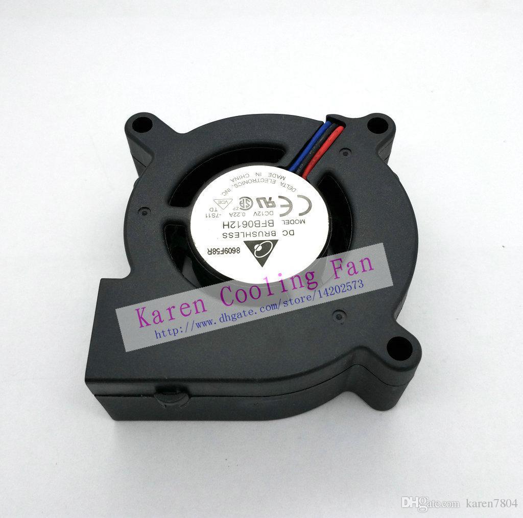 Nouveau ventilateur de refroidissement DELTA BFB0612H 60 * 25MM 6cm 12V 0.22A