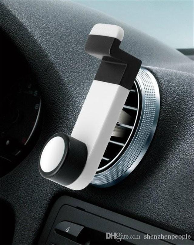 Практически держатель мобильного телефона сброса воздуха автомобиля держатель для аксессуаров телефона смартфона мобильного телефона
