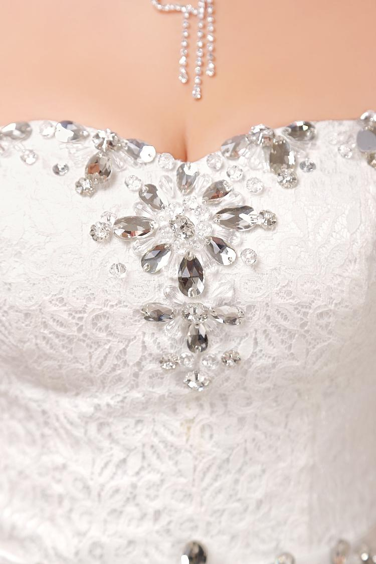 Robe de mariée en dentelle tulle souple robe de bal 2016 Robe de mariée en tulle