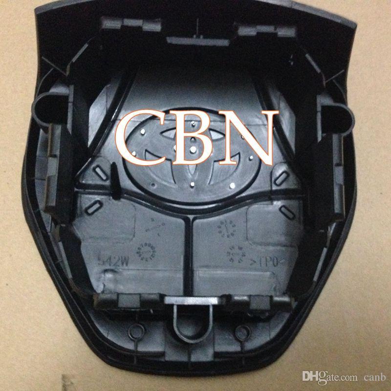 buona qualità Airbag Cover RAV4 Corolla 2013-2015 nuovo modello Driver SRS parti del sacchetto di aria del volante Spedizione gratuita