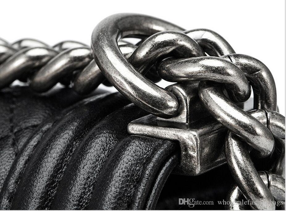 Hotsale brand new superb quality women genuine Leather lambskin chain flap handbag Shoulder Bag tote purse dd02