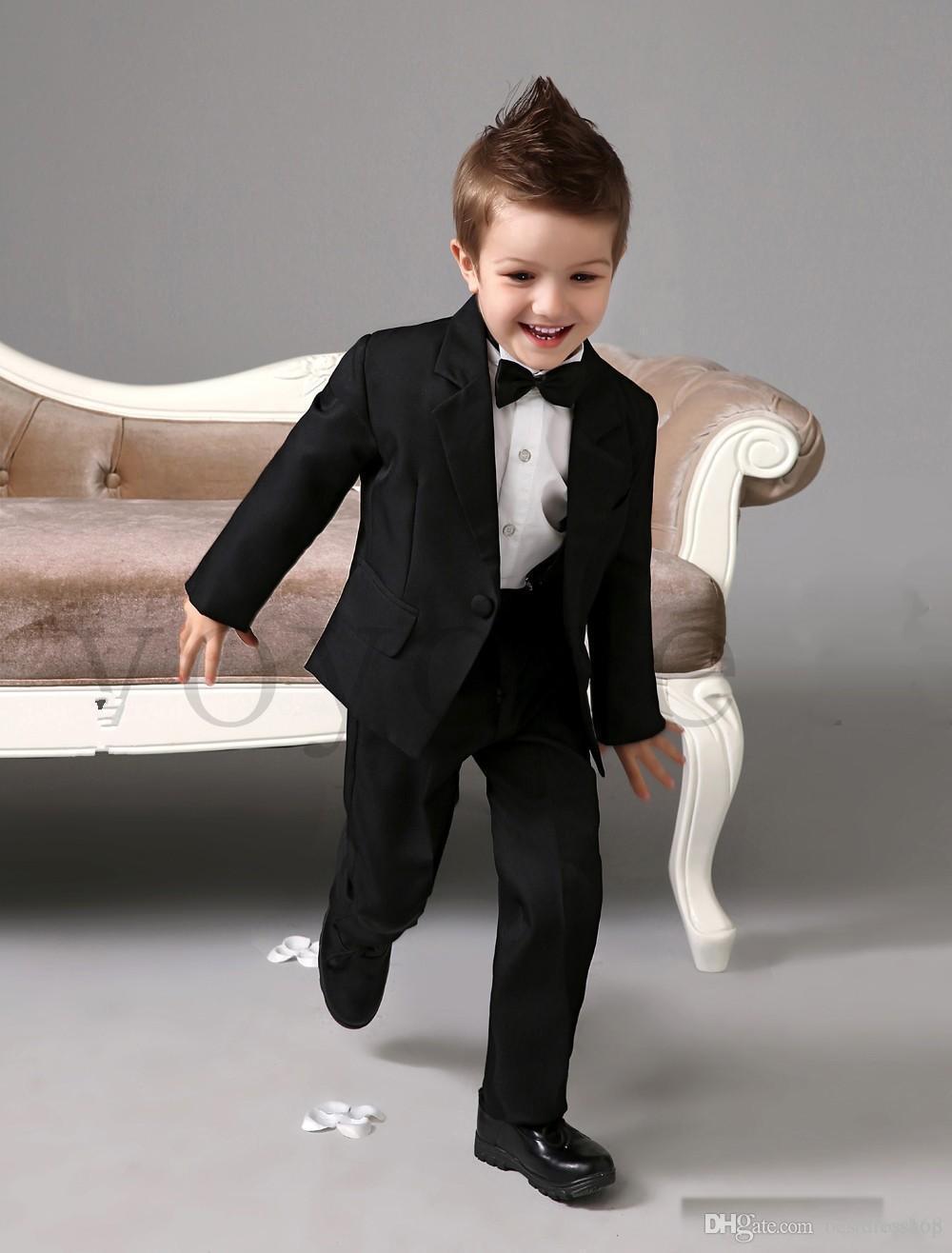 Children\'S Suit Kid Wedding Suits Boy\'S Formal Wear Tuxedos Male ...