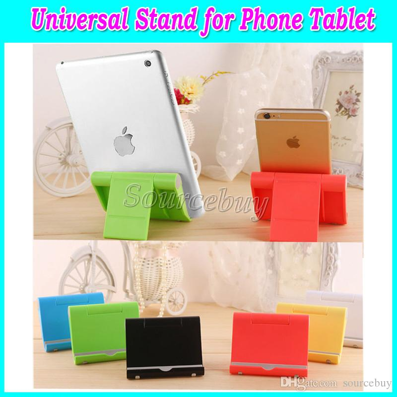 Universal Tablet PC Mobile phone Stand Holder 270 Degrees Rotate Support Bracket trestle For iPad iphone Samsung Smartphone 100pcs Free DHL