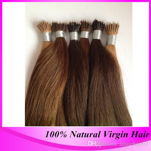Wholesale loop micro ring hair extensions in hair extensions buy free shipping 100strand pack micro nano ring hair extensions 4 dark brown brazilian straight high quality nano bead hair extension pmusecretfo Image collections