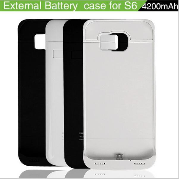 high capacity 4200mah battery power bank case external battery case