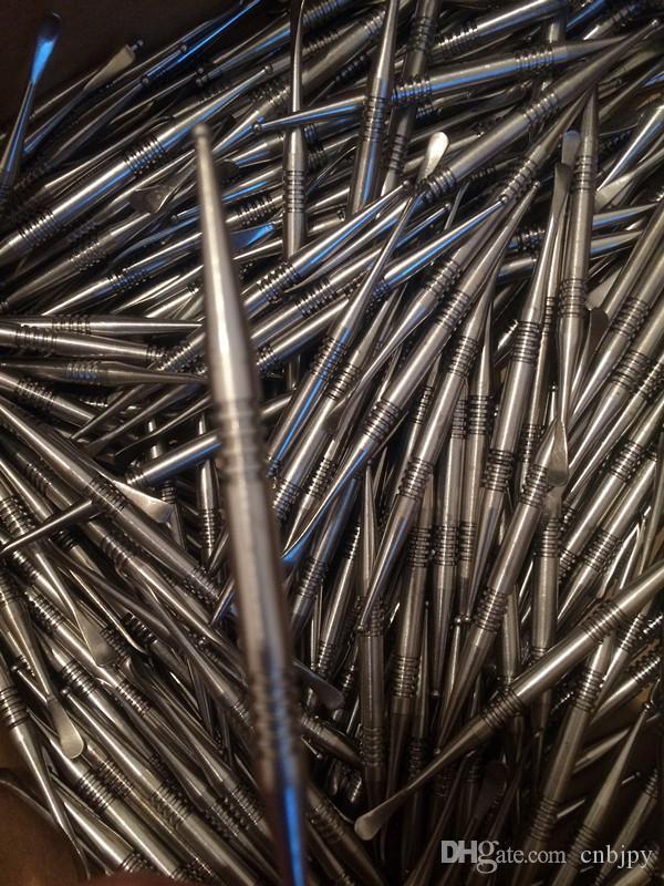100% Pure Titanium GR2 Titanium Dabber con strumento in ceramica DABBER DABBER STRUMENTO TI NAIL