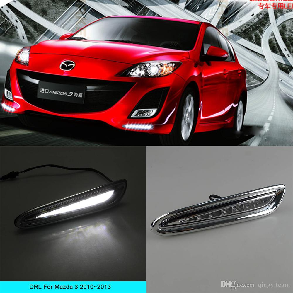 Car Drl Kit For Mazda 3 2010 2011 2012 2013 Led Daytime