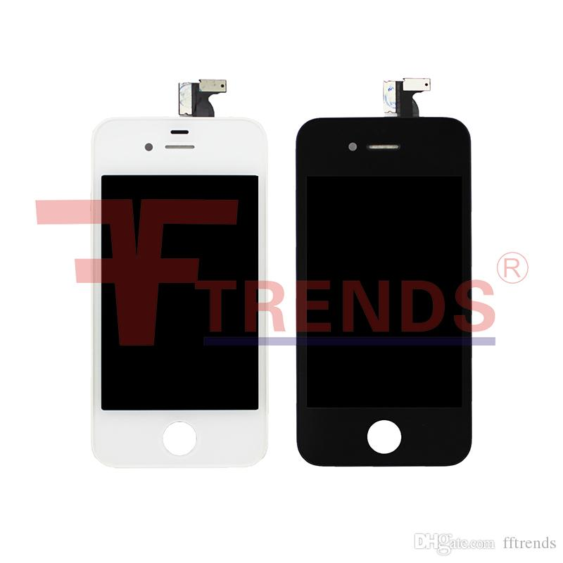 for iPhone 4 4S LCD Display & Touch Screen Digitizer Full Assembly Cheap Price Black White
