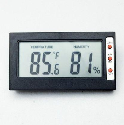 Мини портативный гигрометр измеритель температуры измеритель влажности термометр цифровой ЖК-дисплей по Цельсию преобразования по Фаренгейту с проводом