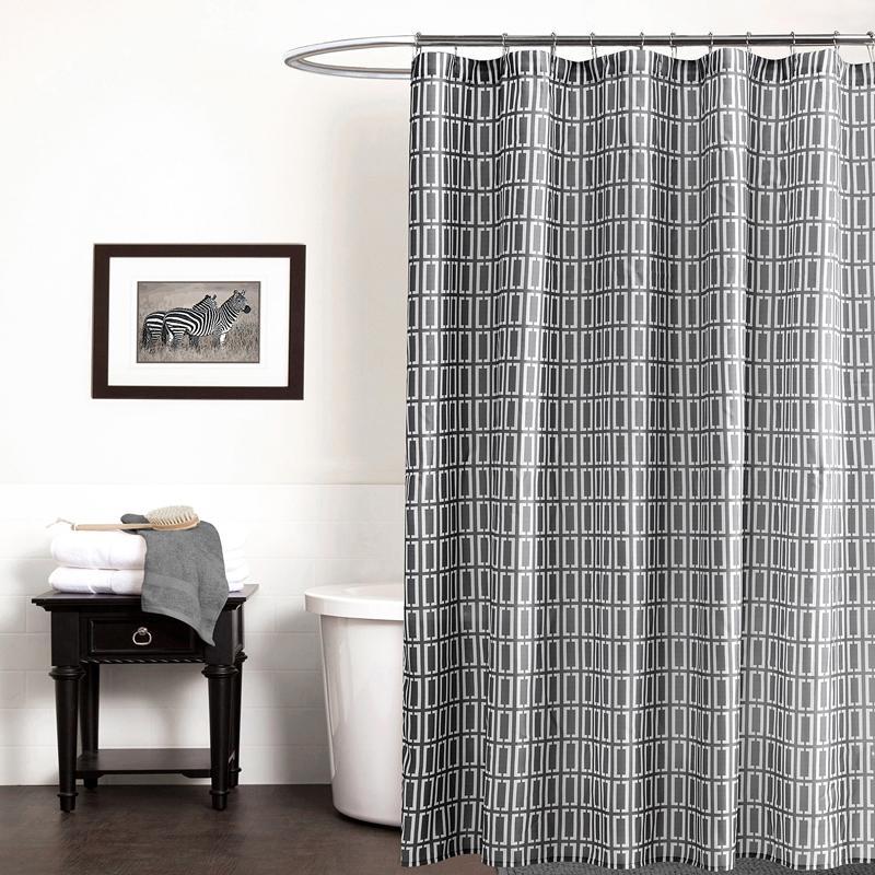Elegant Shower Curtain y20105 grey shower curtains bathroom curtain printed geometric