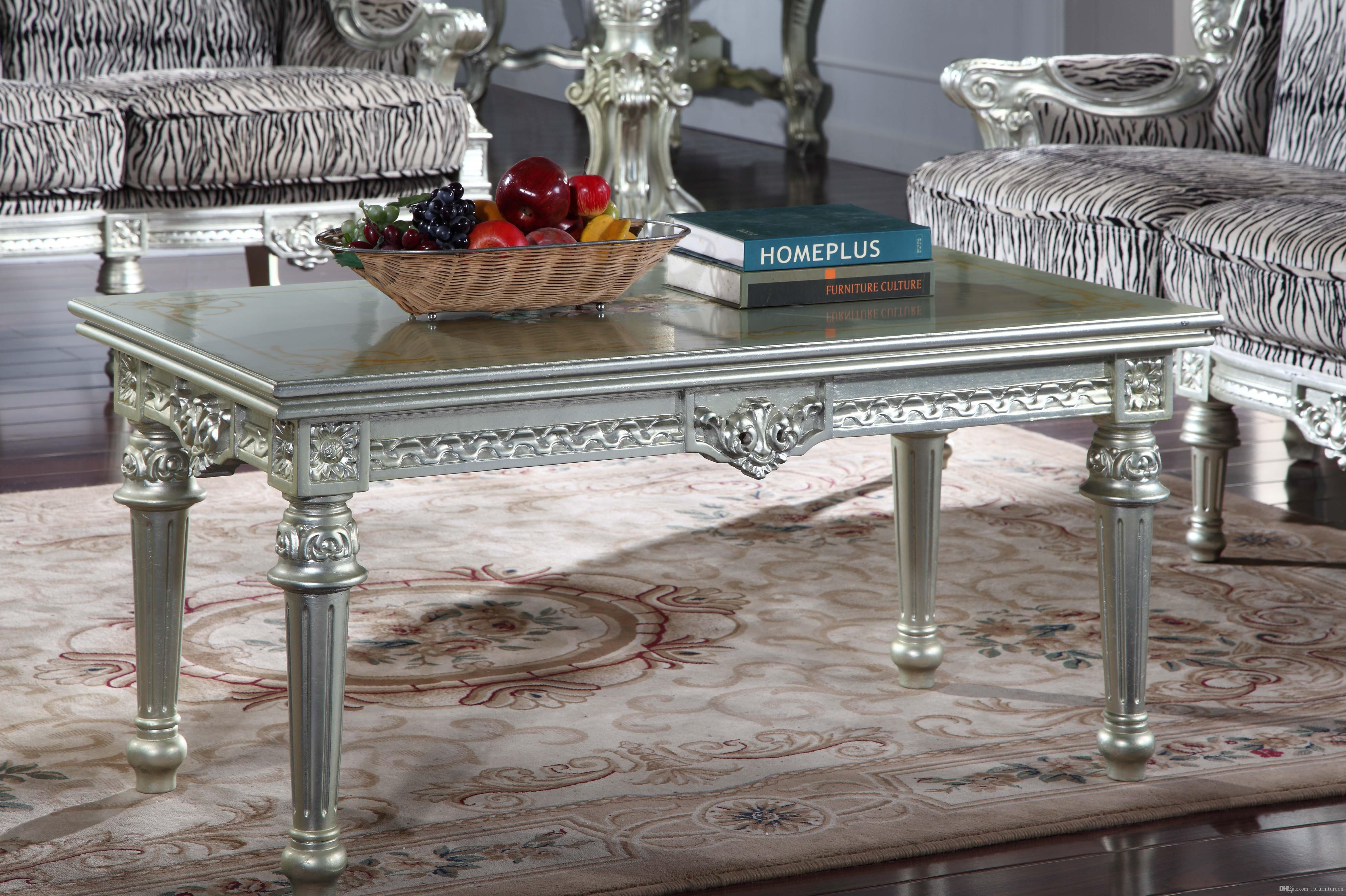 2019 Antique Furniture Manufacturer French Classic Coffee Table European Coffee Table From ...