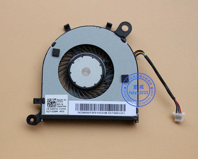 Nueva original para DELL XPS13 ventilador (2015) modelo: Número de pieza P54G: 0XHT5V ventilador de refrigeración del ordenador portátil