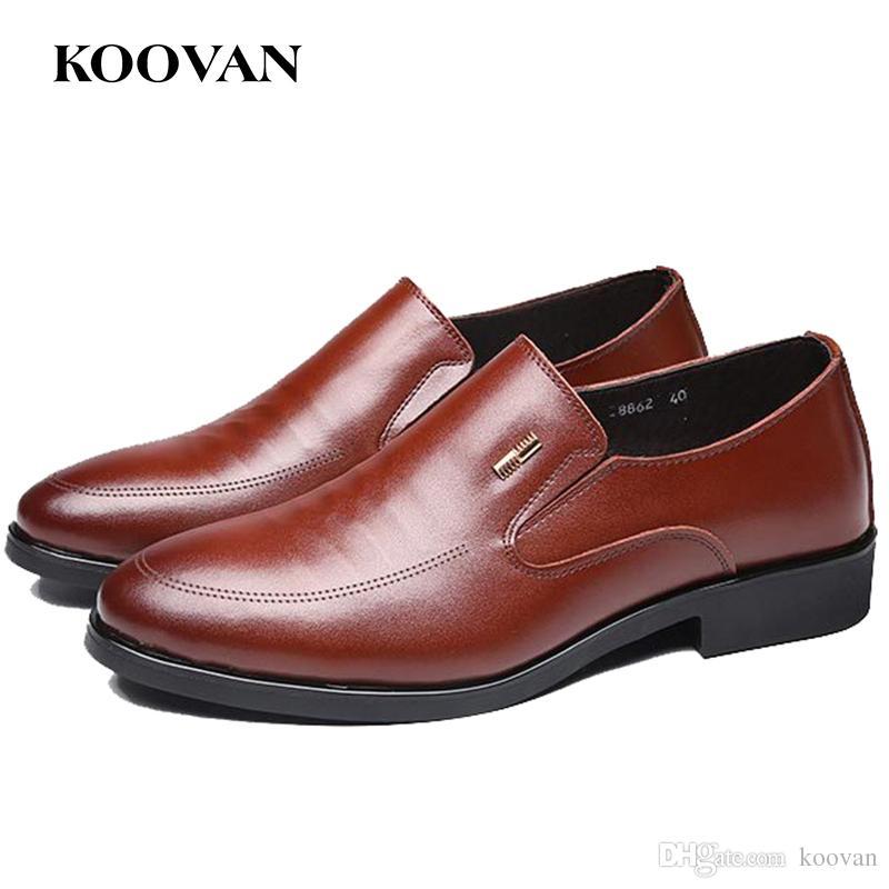 hombre vestir zapatos koovan compre cuero zapato boda de quwzaaw7ft