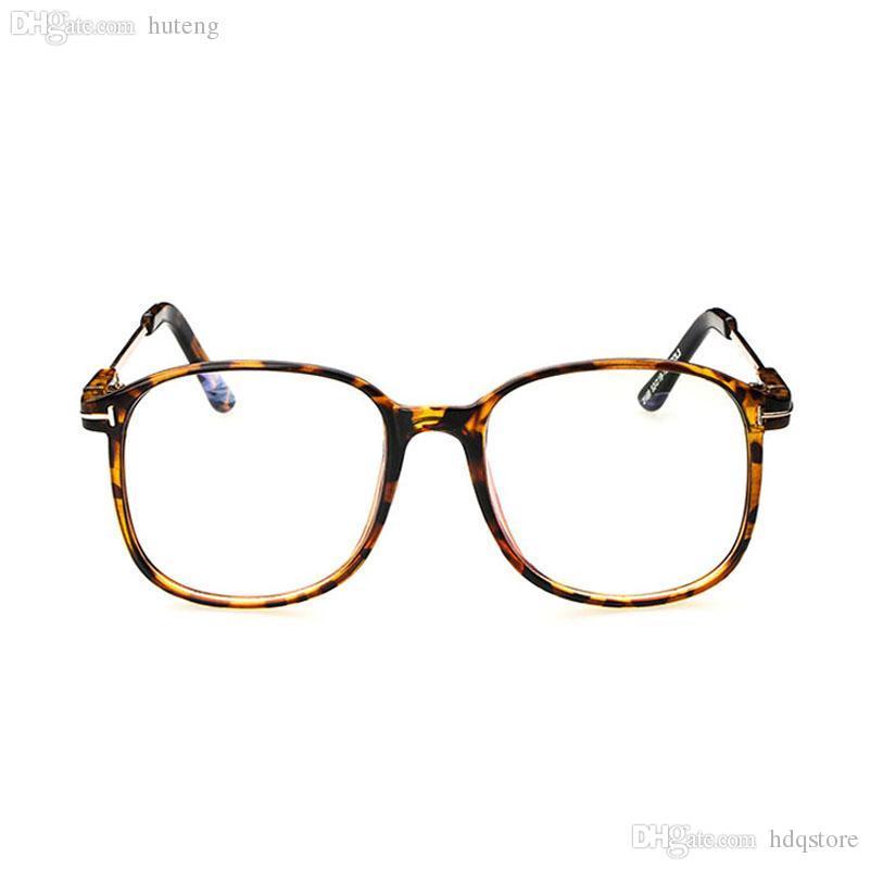 ab136c13468 Wholesale-D Women s Optical Glasses Frame Eyeglasses Large Metal ...