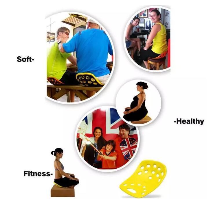 NOVA SitSmart Posture Plus Melhoria para a postura de Dor nas Costas, além de almofada de assento corrector posture yoga Yoga postura