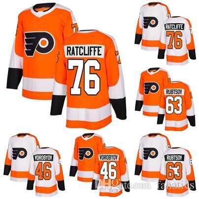 ec30b88fe Cheap 2018 2017 New Brand Men Philadelphia Flyers 76 Isaac Ratcliffe ...
