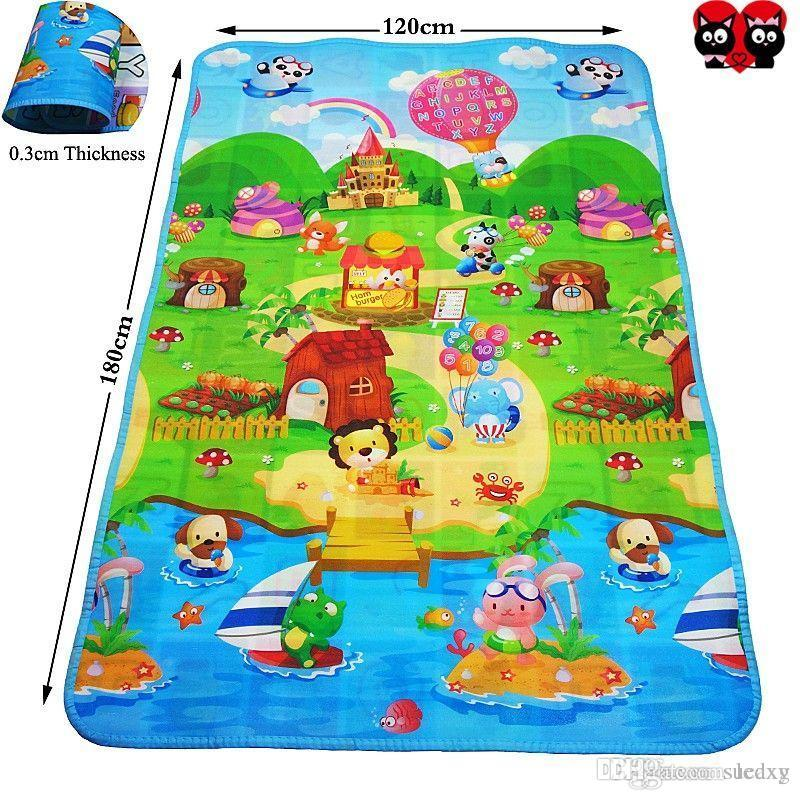 2018 Baby Crawling Mats 3 Sizes Baby Carpet Children Developing Rug Mat  Children Rug Puzzle Baby Mat Kids Toys For Newborns Kids Play Rugs From  Ledxg, ...