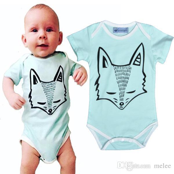 Großhandel 2016 Ins Fox Spielanzug Für Jungen Mädchen Kleidung ...