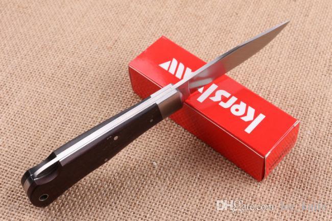 Il nuovo coltello pieghevole di campeggio esterna di sopravvivenza coltello da caccia di Kershaw 3180W pieghevole coltello di trasporto