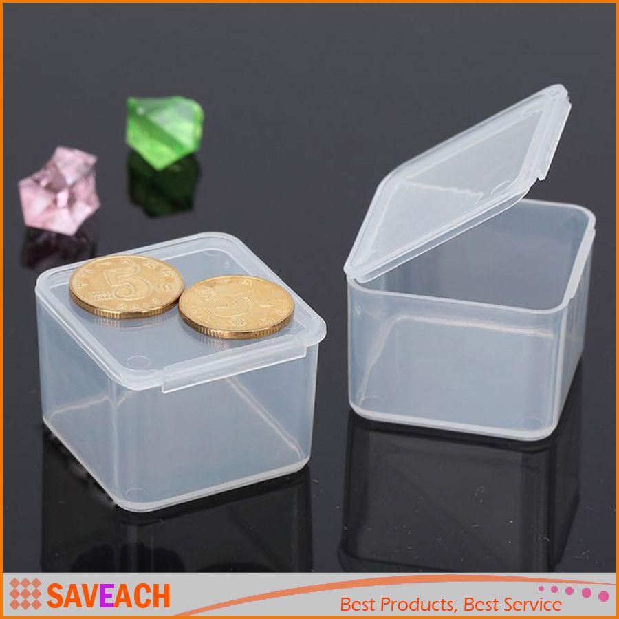 Compre Piezas Cuadradas Caja De Herramientas De Tornillo  ~ Cajas Plastico Almacenaje Baratas
