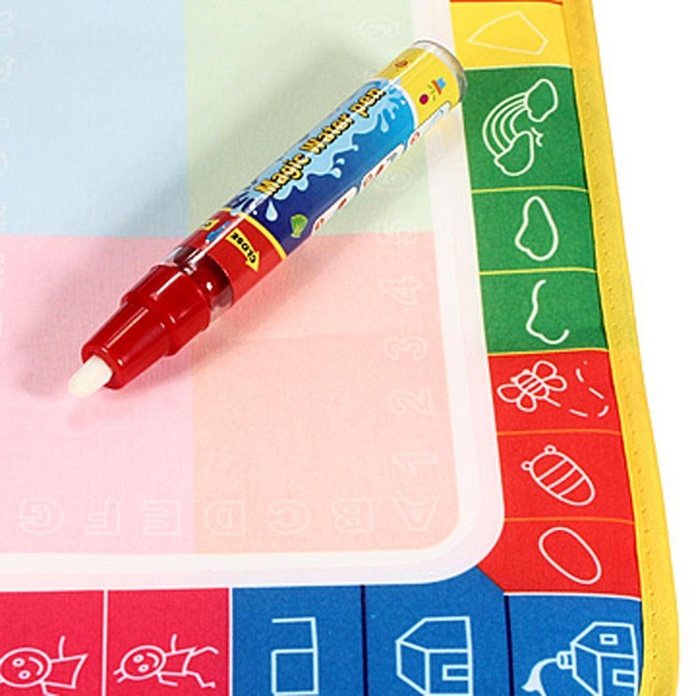 Magic Water Drawing Mat Toy Writing Painting Doodle Board with Magic Pen Kids Game Baby Children Early Educational Toy Xmas Gift