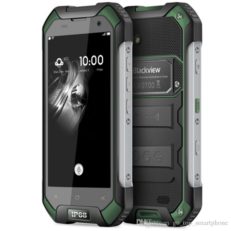 Blackview BV6000 IP68 WaterProof Mobile Phone 4G LTE Android 6.0 MTK6755 Octa Core 2.0Ghz 3GB RAM 32GB ROM GPS