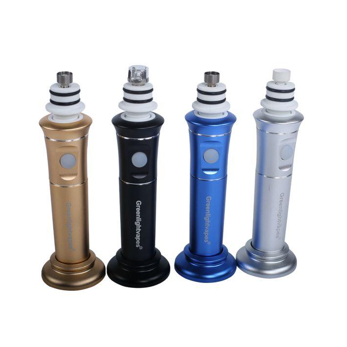 100% d'origine Portability Enail Dabtime Wax Pen H-enail Carb Cap Dabber magnétique 2500Mah Nattery g9 henail Plus h e nail plus