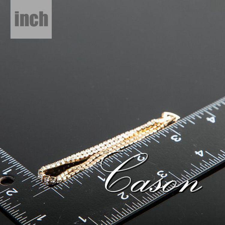 Wholesale 18K Real Gold Plated Full Crystal Bracelet AZORA TS0017