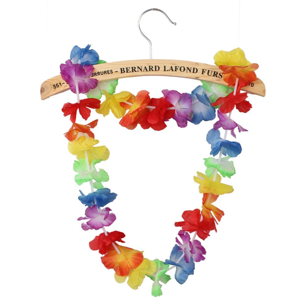 Garland Paper Artificial Flowers Hawaiian Tropical Party Hen Night